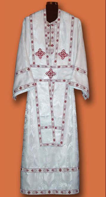 Ђаконске одежде - беле