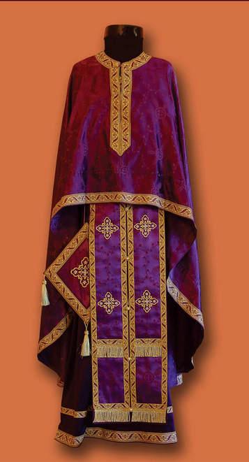 Свештеничке одежде - великопосне