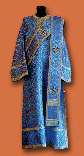 Ђаконске одежде - плаве