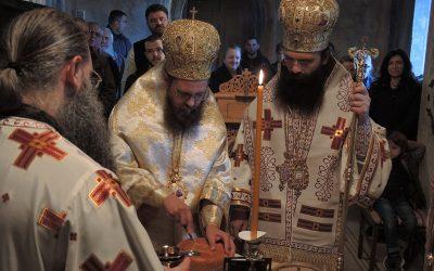 Епископ Иларион прославио имендан у манастиру Буково