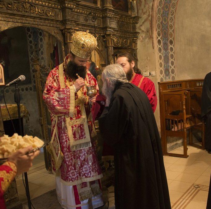 Епископ Иларион у манастиру Буково