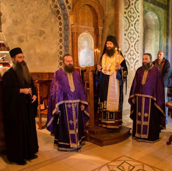 Епископ Иларион богослужио на Велики понедељак