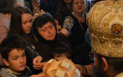 Сабрање на Св. Василија Острошког у манастиру Буково