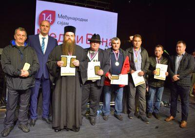Negotin, Pobednici 14. Medjunarodnog sajma meda i vina, foto SMJovanovic