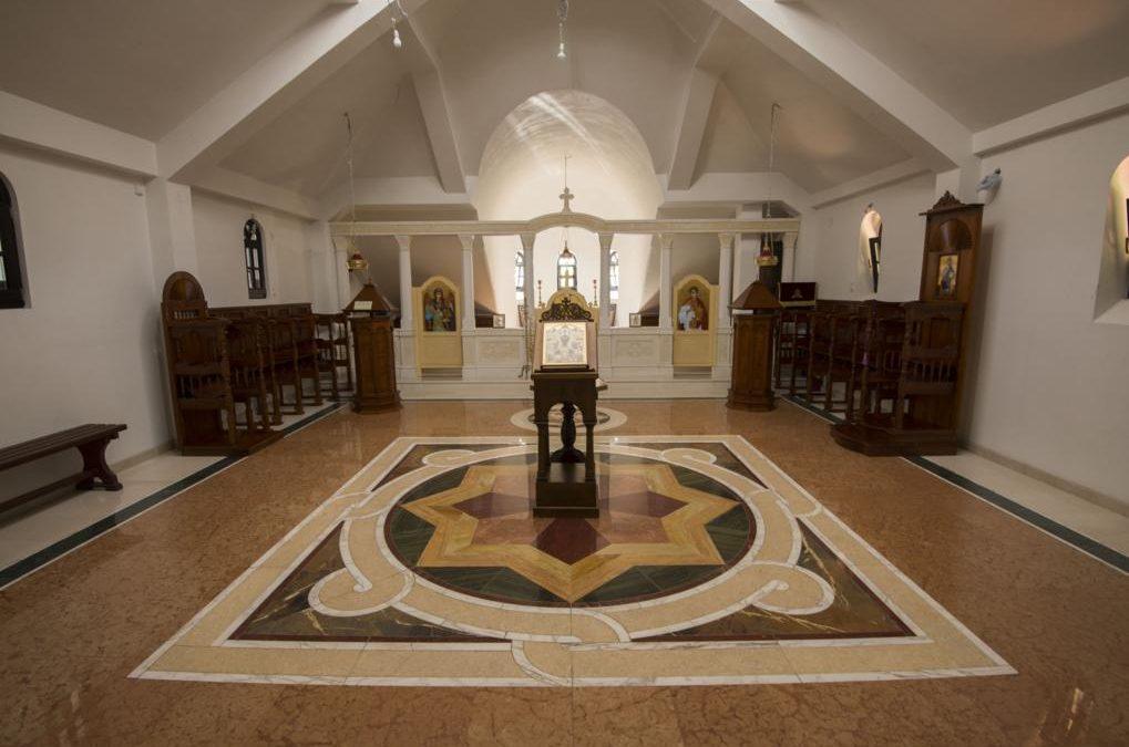 Почетак фрескописа параклиса Покрова Пресвете Богородице у манастиру Буково