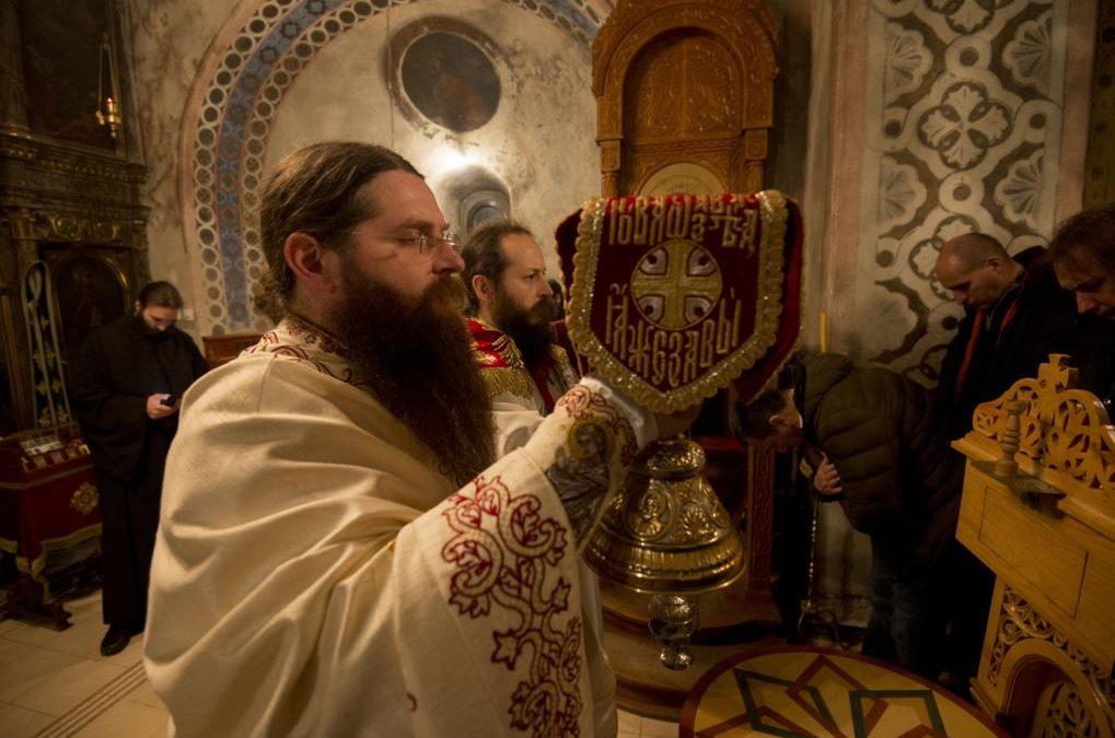 Божић у манастиру Буково