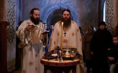 Богојављење у манастиру Буково