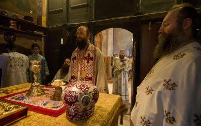 Света архијерејска Литургија у Букову