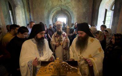 Недеља слепог у манастиру Буково