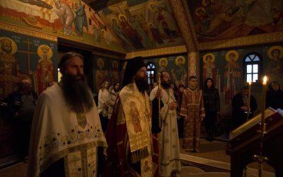 Навечерје славе параклиса манастира Буково
